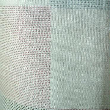【袷】草木染め手座繰り赤城織り紬