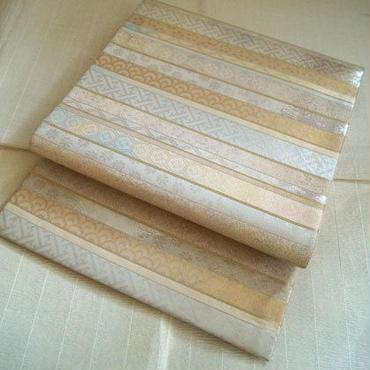 【ふくろ帯】横段に有職文様袋帯