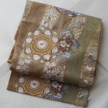HOLD・【なごや帯】スワトウ刺繍のなごや帯