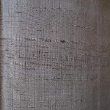 【袷】鴇浅葱(ときあさぎ)色 手織紬
