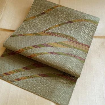 【なごや帯】 多彩な織り柄の八寸 博多織