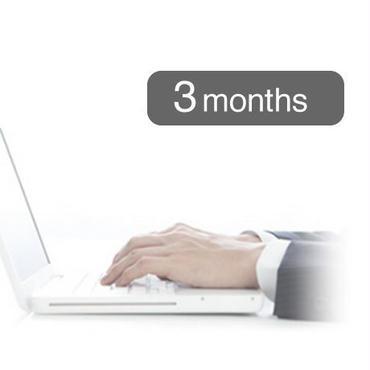 四半期(3ヶ月)分セット
