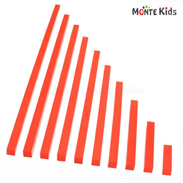 【MONTE Kids】MK-031  赤い棒  小 家庭用  ≪OUTLET≫