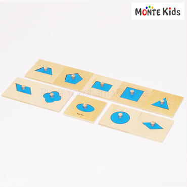 【MONTE Kids】MK-007  幾何学パズル ミニサイズ