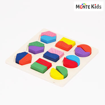【MONTE Kids】MK-015  図形パズル C