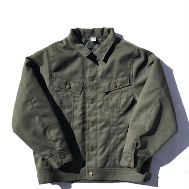 Daily Trucker Jacket - olive
