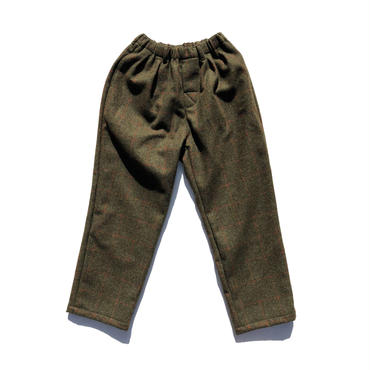 COMFORTABLE REASON British Wool 2tuck Slacks