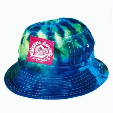 Milkcrate Custom Tie Dye Bucket - Neon Blue
