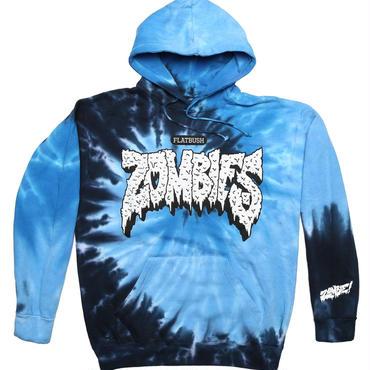 Zombie Indigo Tye Dye Pullover