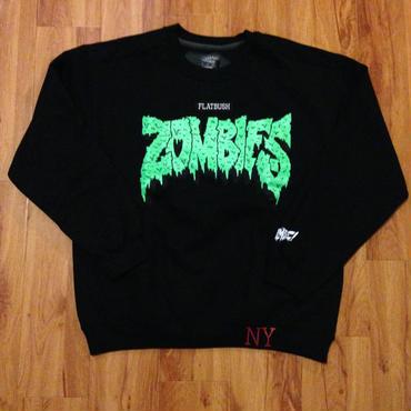 Zombie Black/Green Crew SWEATSHIRTS
