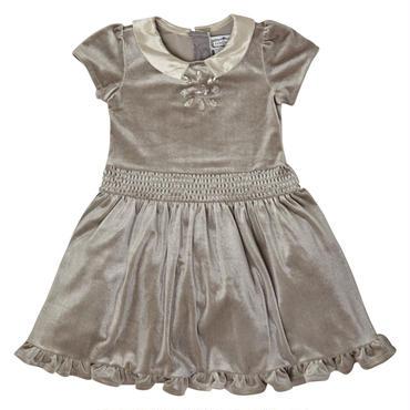 グレー ベルベットドレス  98cm  104cm