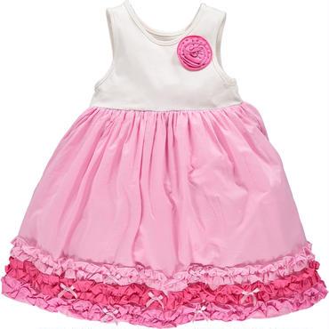 ピンクAライン ドレス 110cm