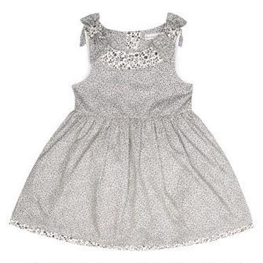 ブラック フラワープリントドレス  92cm