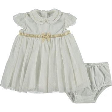 ホワイトゴールドシャイニードレス   74cm