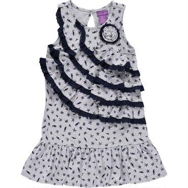 グレーレースサマードレス(シェル) 110cm 122cm