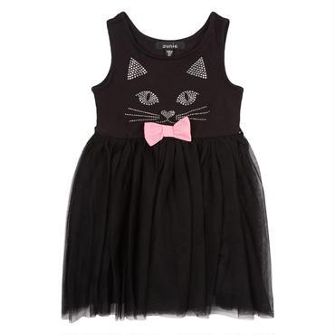 ブラックキャット ドレス(チュール)  2才,4才