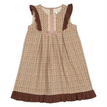 コーデュロイ ドレス(ブラウン) 116cm