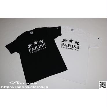 【再入荷】エンジェルスターTシャツ【ブラック・ホワイト】