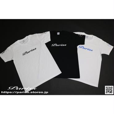【新作】WロゴTシャツ【ブラック×ホワイト・ホワイト×ブラック・ホワイト×ブルー】