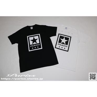 【新作】1StarTシャツ【ブラック・ホワイト】