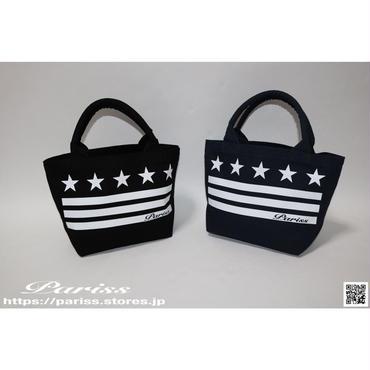 5Starミニトートバッグ【ブラック・ネイビー】