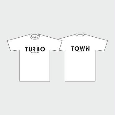 80KIDZ - TURBO TOWN Tee (white)