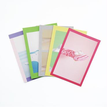 ニシタニトモコ「Gummi Post Card」5種セット