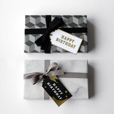 "Gift Tags - ""Happy Birthday"""