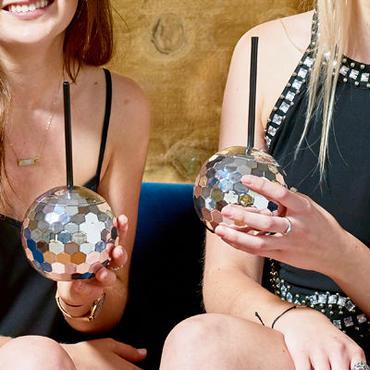 【Talking Tables】ミラーボールカップ disco ball cup [TT0202-GLIT-CUP-DISCO]