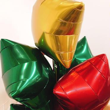 ぷかぷか浮かぶ♪【フィルムバルーン】ibrexスター/Xmas限定カラー/15インチ/全3色 [BF0202-02013132]
