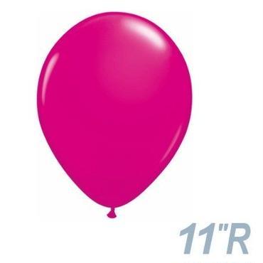 【ゴムバルーン】11インチ ワイルドベリー/5個セット 約28cm ラウンド 無地 [BG0103-25572-P]