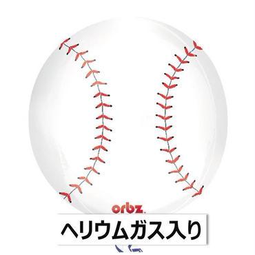 ぷかぷか浮かぶ♪ ベースボールバルーン BUBBLES バブルス  Qualatex  [BF0701-30684-G]