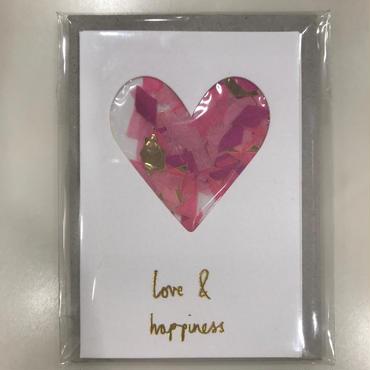 【MeriMeri(メリメリ)】メッセージカードミニ/Love コンフェッティ [MM0401-11-2305]