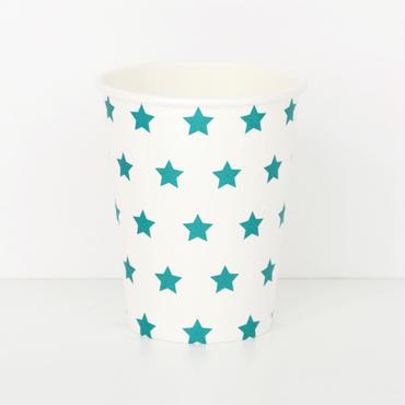 【My Little Day】ペーパーカップ/ブルースター 8個入り [MLD0202-MD017]