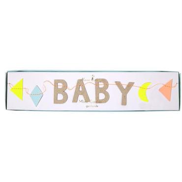 【MeriMeri】ミニガーランド/Baby パステル [MM0101-45-2288]