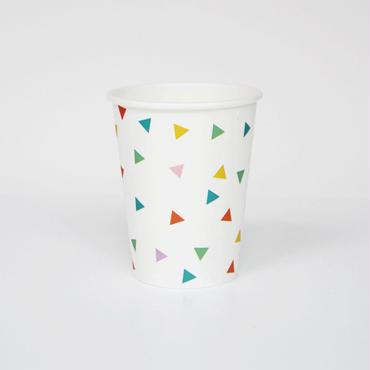 【My Little Day】ペーパーカップ/ マルチカラー 8個入り [MLD0202-MD016]