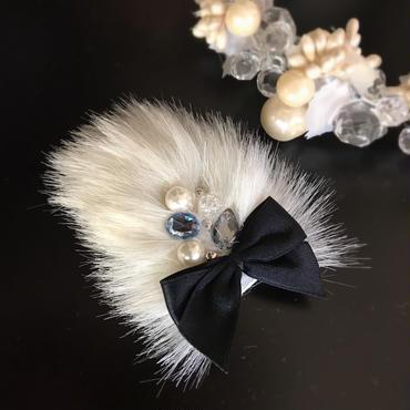 Winter Bijou Baby Hair clip