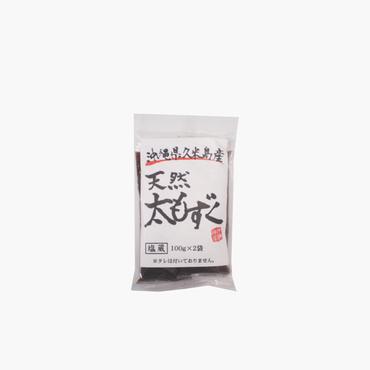 沖縄海星物産/久米島産天然太もずく100g×2