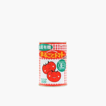 光食品/国産有機まるごとトマト 400g