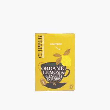 クリッパー/オーガニック レモン&ジンジャーティー 50g