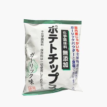 深川油脂/化学調味料無添加ポテトチップス ガーリック味