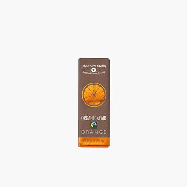 ステラ/オーガニック ダークチョコレート オレンジ50g