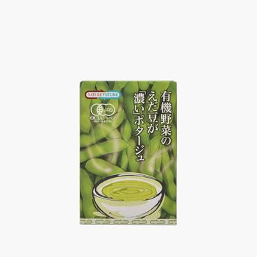 コスモス食品/有機野菜のえだ豆が濃いポタージュ 2食入