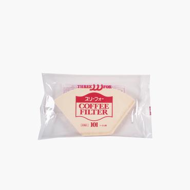 三洋産業/無漂白コーヒーフィルター(1~2人用) 40枚入