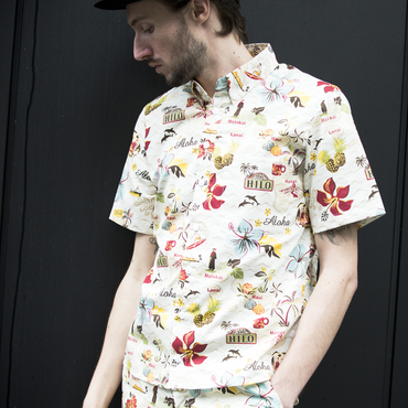 SOW×PROJECT SR'ES(ソウ×プロジェクトエスアールエス) / SUPREME ALOHA SHIRT(アロハシャツ) / 送料無料 / MADE IN HAWAII