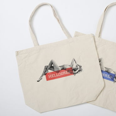 PROJECT SR'ES(プロジェクトエスアールエス) / STAMP ON CHARMING GIRL TOTE(トートバッグ) / No.ACS00916