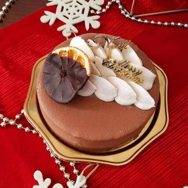 【2018クリスマス】Rawチョコレートケーキ