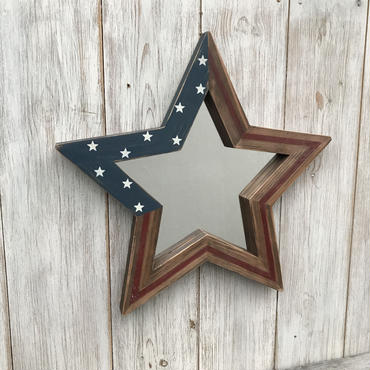 2way星型ミラー  星条旗