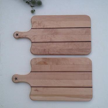 カッティングボード メープル材×ウォルナット