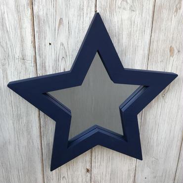 星型ミラー  スタンド  ネイビー